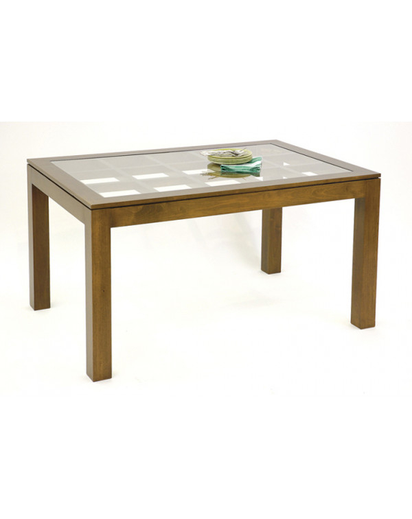 Most Current Medium Sized Dining Table With Glass Top On An Elegant Lattice Pertaining To Medium Elegant Dining Tables (#15 of 20)
