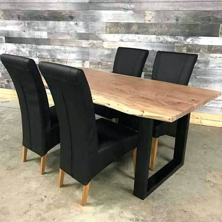 Most Recent Acacia Dining Table Canada – Spsbreazaph Inside Acacia Dining Tables With Black X Leg (View 12 of 20)
