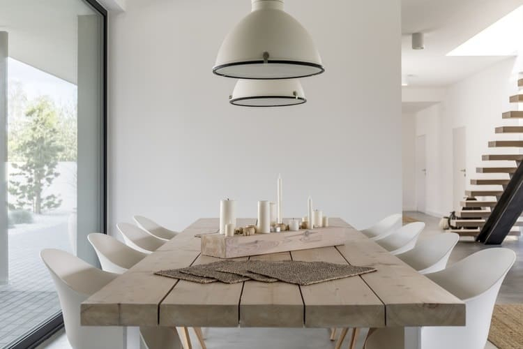 Most Recent Distressed Grey Finish Wood Classic Design Dining Tables Regarding The 25 Best Dining Room Tables Of 2019 – Family Living Today (#13 of 20)