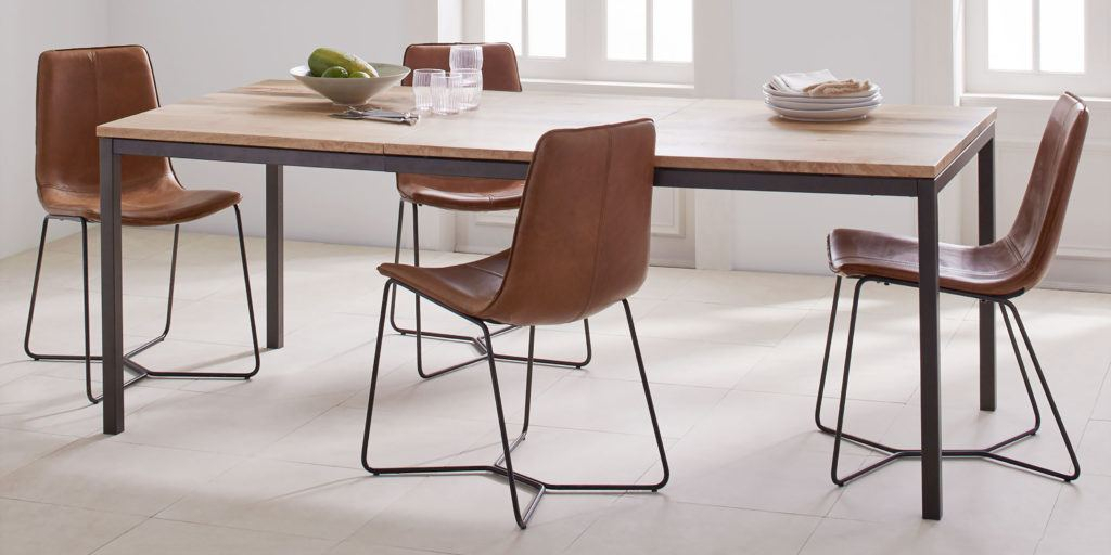 Most Recent How To Buy A Dining Or Kitchen Table And Ones We Like For Regarding Modern Glass Top Extension Dining Tables In Matte Black (#17 of 20)