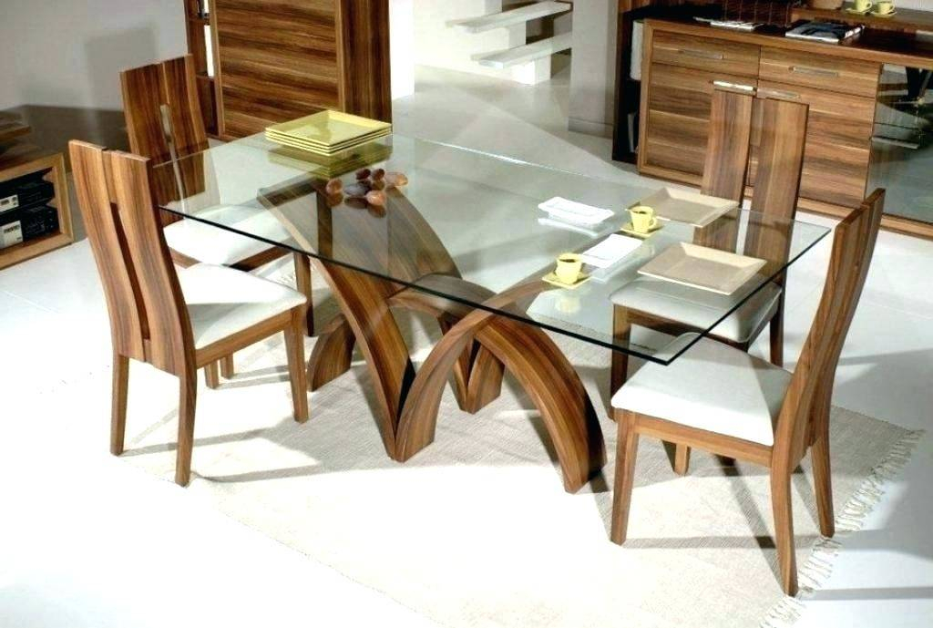 Most Recent Tag Archived Of Rectangular Glass Top Dining Room Sets Regarding Rectangular Glass Top Dining Tables (#11 of 20)