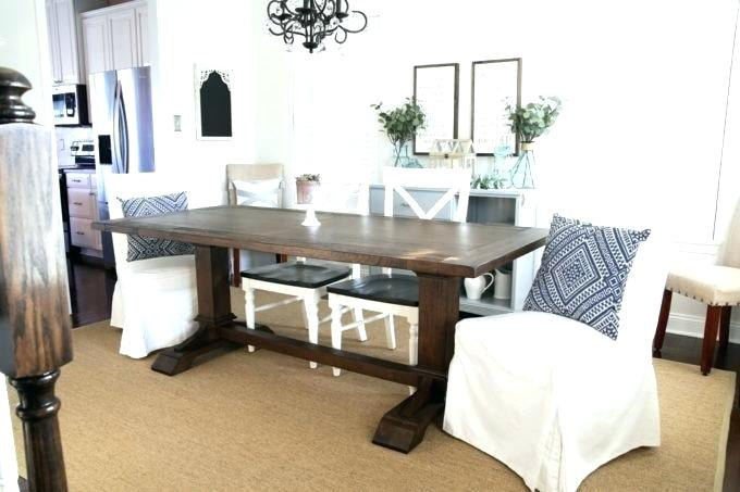 Most Recent White Farm Dining Table – Stichling Intended For Walnut And Antique White Finish Contemporary Country Dining Tables (#10 of 20)
