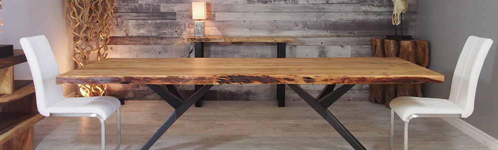 Most Recently Released Acacia Dining Tables With Black Rocket Legs Pertaining To Corcoran Importation (View 7 of 20)