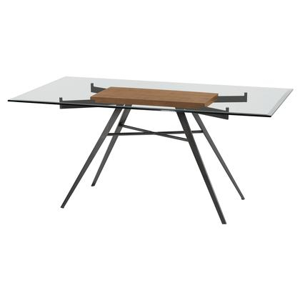 Most Recently Released Armen Living Lcledimfwabs In Contemporary Rectangular Dining Tables (View 11 of 20)
