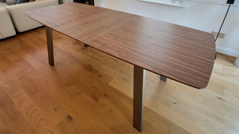Most Recently Released Eames Style Dining Tables With Wooden Legs Intended For Assi Walnut Extending And Eames Style Chair Set (#16 of 20)