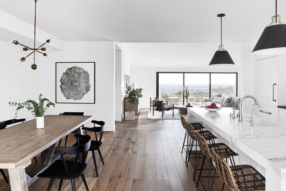 Most Recently Released Rustic Mid Century Modern 6 Seating Dining Tables In White And Natural Wood Intended For Scandinavian Design Trends – Best Nordic Decor Ideas (View 10 of 20)