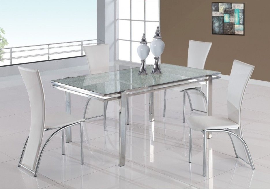 Most Up To Date Chrome Contemporary Square Casual Dining Tables With Dining Room Ideas (#11 of 20)