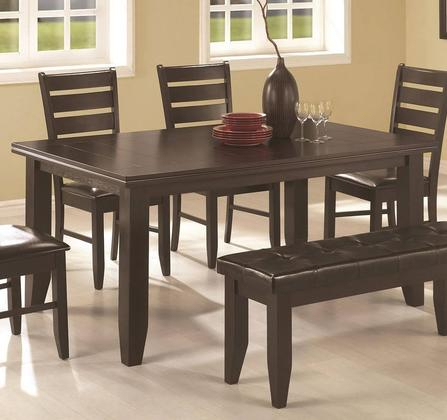 Most Up To Date Coaster 102721 For Coaster Contemporary 6 Seating Rectangular Casual Dining Tables (View 13 of 20)