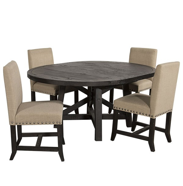 Most Up To Date Contemporary 4 Seating Oblong Dining Tables In Oval Shape Contemporary 4 Seater Dining Set In Dark Brown (#16 of 20)