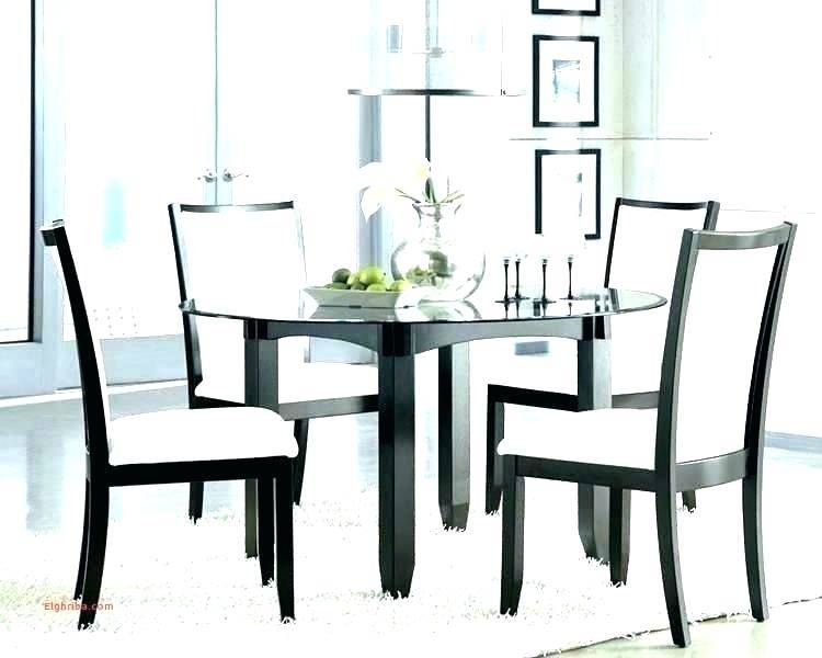Most Up To Date Elegance Large Round Dining Tables Pertaining To Glass Top Dining Table Set Chairs Round Seat And Extending (#15 of 20)