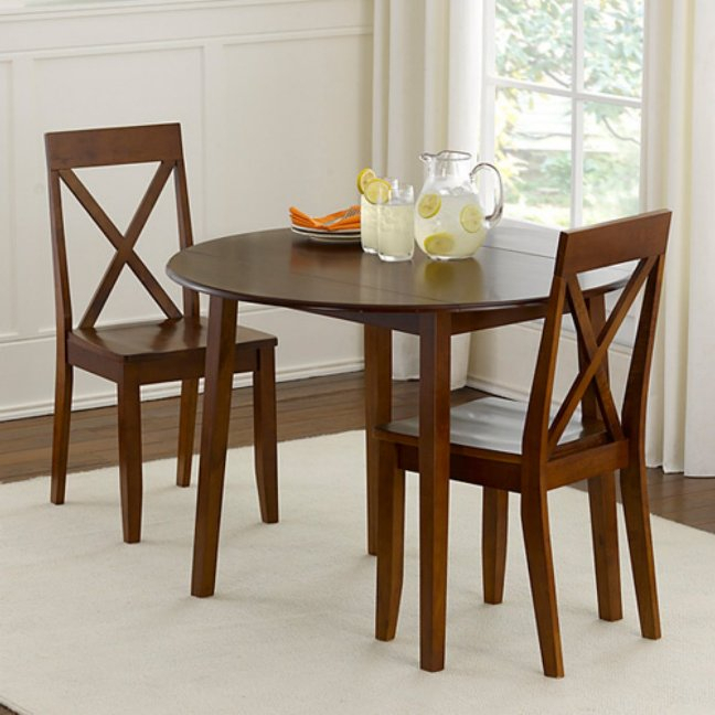 Most Up To Date Elegant Small Round Kitchen Table And Chairs Rustic Round Intended For Elegance Small Round Dining Tables (#12 of 20)