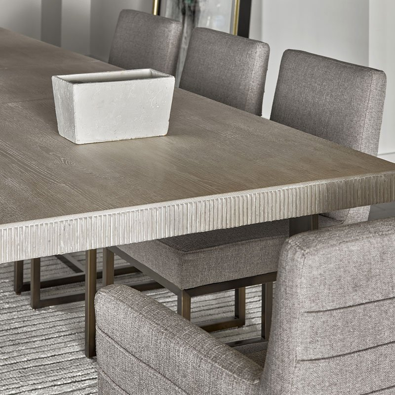 Most Up To Date Modern Robards Rectangular Dining Table (quartz) Pertaining To Contemporary Rectangular Dining Tables (View 4 of 20)