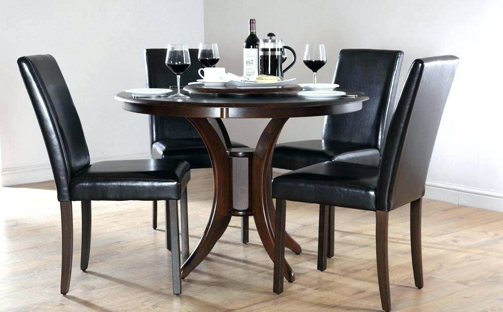 Most Up To Date Small Wood Dining Set Engaging Round Table Dark Kitchen For Elegance Small Round Dining Tables (#13 of 20)