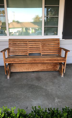 New And Used Porch Swing For Sale In Pasadena, Ca – Offerup Within Casualthames Black Wood Porch Swings (View 13 of 20)