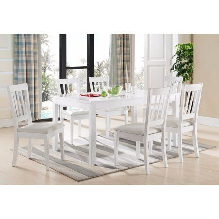 Newest Medium Elegant Dining Tables Inside Elegant Dining Table With Smooth Top, White, Size: Medium (#19 of 20)