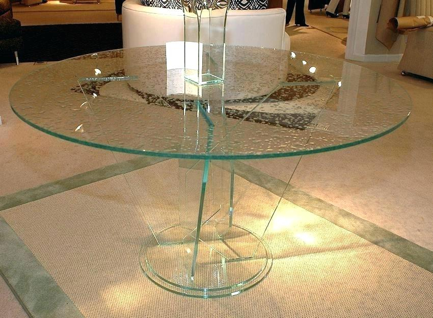 Newest Modern Round Glass Dining Tables – Weafrica Organisation Throughout Modern Round Glass Top Dining Tables (#13 of 20)