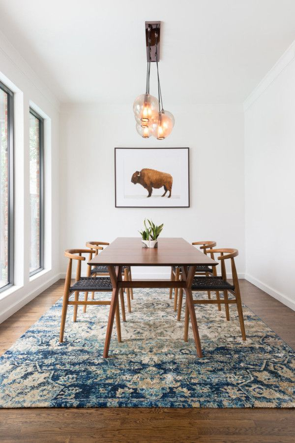 Newest Rustic Mid Century Modern 6 Seating Dining Tables In White And Natural Wood For 2015 Year In Review: Deconstruction (#12 of 20)