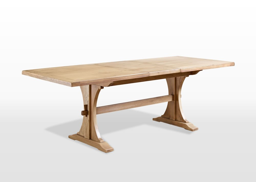 Old Charm 6Ft Lichfield Dining Table Inside Widely Used Fumed Oak Dining Tables (#13 of 20)