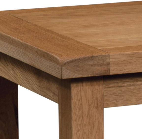 Old Mill Oak Medium Extending Dining Table In Best And Newest Medium Dining Tables (View 14 of 20)