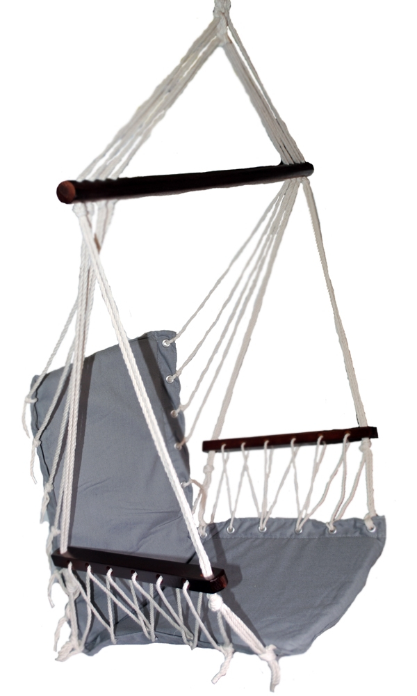 Omni Patio Swing Seat Hanging Hammock Cotton Rope Chair With With Regard To Cotton Porch Swings (View 18 of 20)