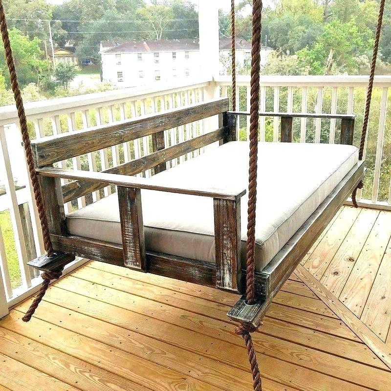 Outdoor Bed Swing Plans Beds Daybed Porch – Bahissiteleri (#15 of 20)