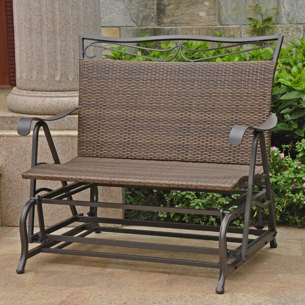 Outdoor Double Glider | Wayfair Pertaining To Twin Seat Glider Benches (View 18 of 20)