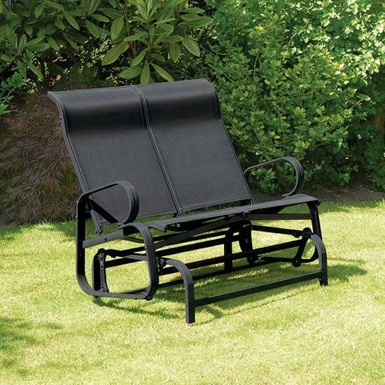 Popular Photo of Twin Seat Glider Benches