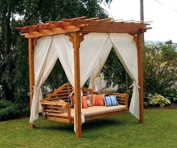 Outdoor Swings With Canopy For Adults – Stiickman Throughout Porch Swings With Canopy (#13 of 20)