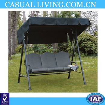 Patio 3 Seat Outdoor Polyester Canopy Porch Swing Sets Hammock With Steel Frame And Adjustable Canopy – Buy Outdoor Swing Sets,outdoor Swing Sets Intended For Canopy Patio Porch Swing With Stand (View 20 of 20)