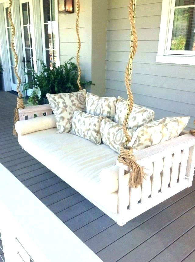 Patio Architectures Bedrooms Delectable Outdoor Daybed Swing Regarding Patio Hanging Porch Swings (#13 of 20)