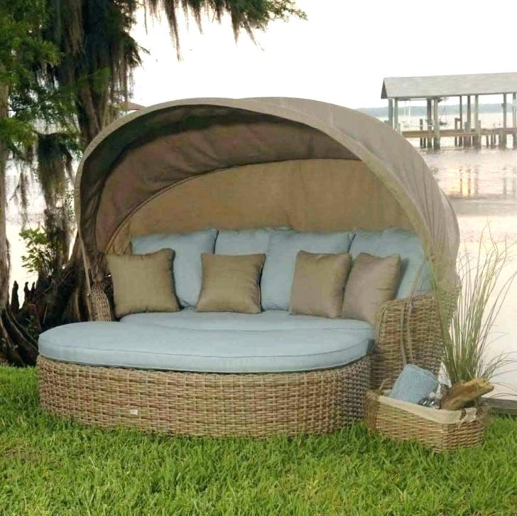 Patio Daybed Swing – Myrleservais (#14 of 20)