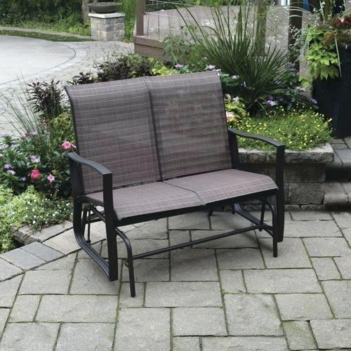 Patio Double Glider – Sigpot Intended For Iron Double Patio Glider Benches (View 16 of 20)