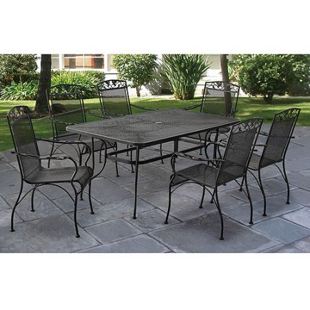 Patio & Garden | Garden Furniture Sets, Backyard Furniture For 2 Person Hammered Bronze Iron Outdoor Swings (View 11 of 20)
