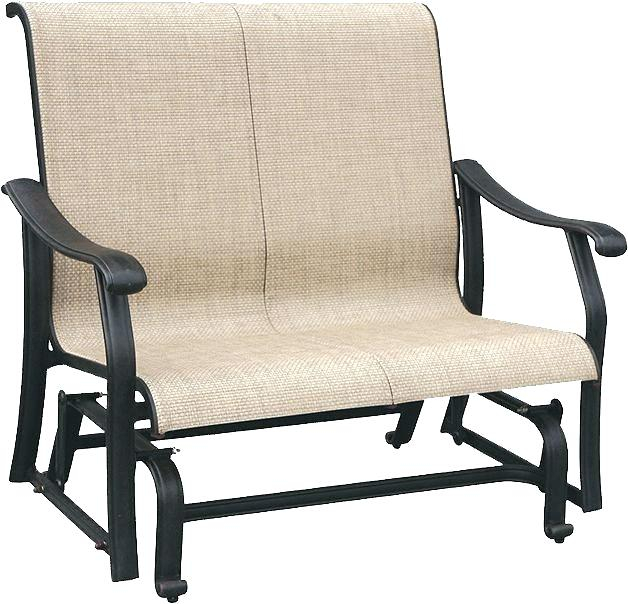 Patio Glider Cushions – Sigpot Regarding Cushioned Glider Benches With Cushions (View 11 of 20)