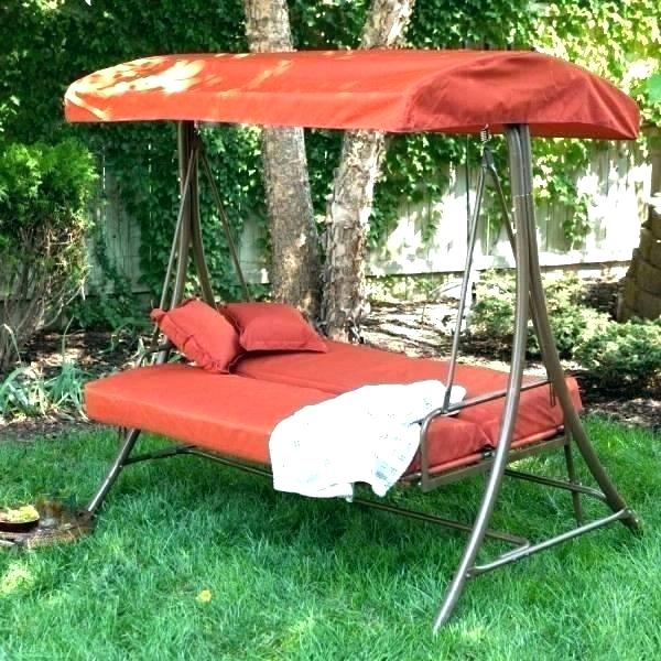 Patio Outdoor Swing Canopy Replacement Porch Seat – See The Regarding Porch Swings With Canopy (#14 of 20)