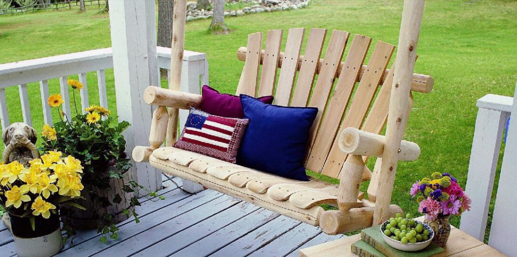 Patio Swing – The Favorite Place For A Family Gathering With Regard To Patio Porch Swings With Stand (View 18 of 20)
