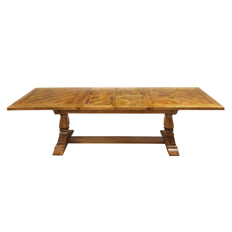 Pedestal Extension Dining Table Throughout Latest Extension Dining Tables (#14 of 20)