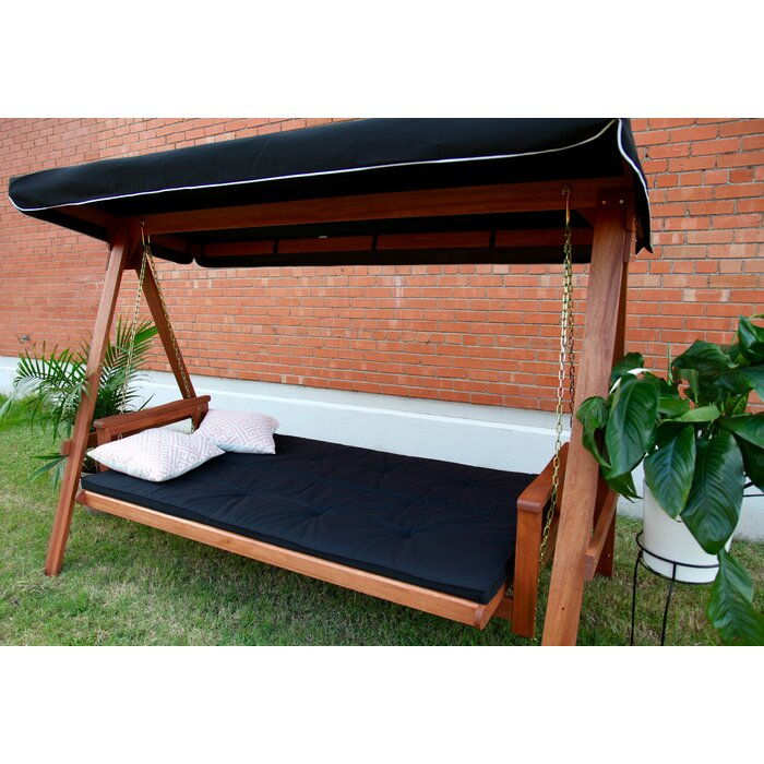 Peggy Daybed Porch Swing With Stand Throughout Daybed Porch Swings With Stand (#17 of 20)