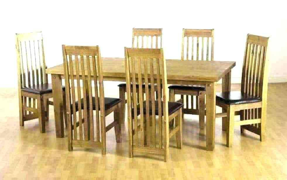 Inspiration about Pine Dining Room Set Table And Chairs Round Light Furniture Inside Most Recent Rustic Pine Small Dining Tables (#15 of 20)