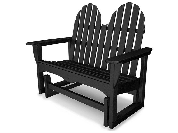 Popular Photo of Classic Adirondack Glider Benches