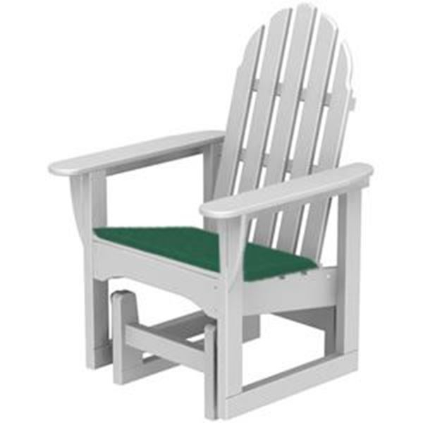 Polywood Cushions Adirondack Glider Chair Seat Cushion Only In Cushioned Glider Benches With Cushions (View 7 of 20)