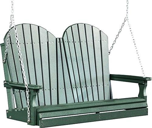 Polywood Porch Swing – Amiciperibaffi Intended For Vineyard Porch Swings (View 17 of 20)
