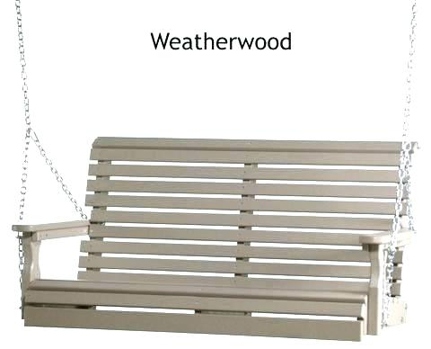 Polywood Porch Swing – Founderware (View 18 of 20)