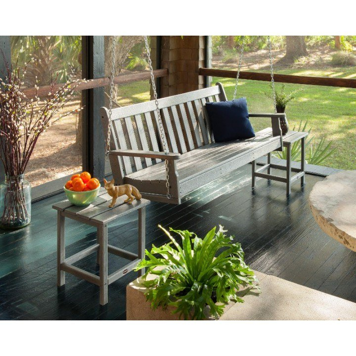 Polywood® Vineyard 60 Porch Swing Within Vineyard Porch Swings (View 11 of 20)