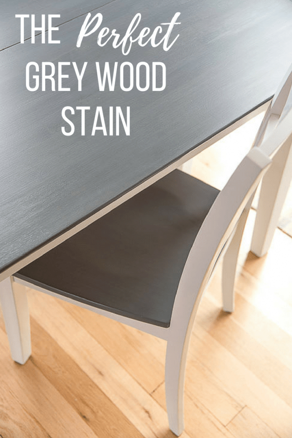 Popular Distressed Grey Finish Wood Classic Design Dining Tables Inside The Perfect Grey Wood Stain – The Handyman's Daughter (#15 of 20)