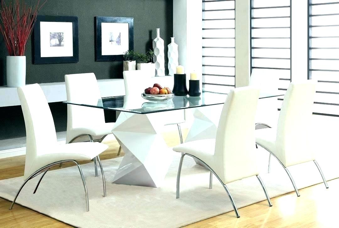 Popular Modern Round Glass Top Dining Tables Pertaining To Round Glass Top Dining Table And Chairs – Stichling (#15 of 20)