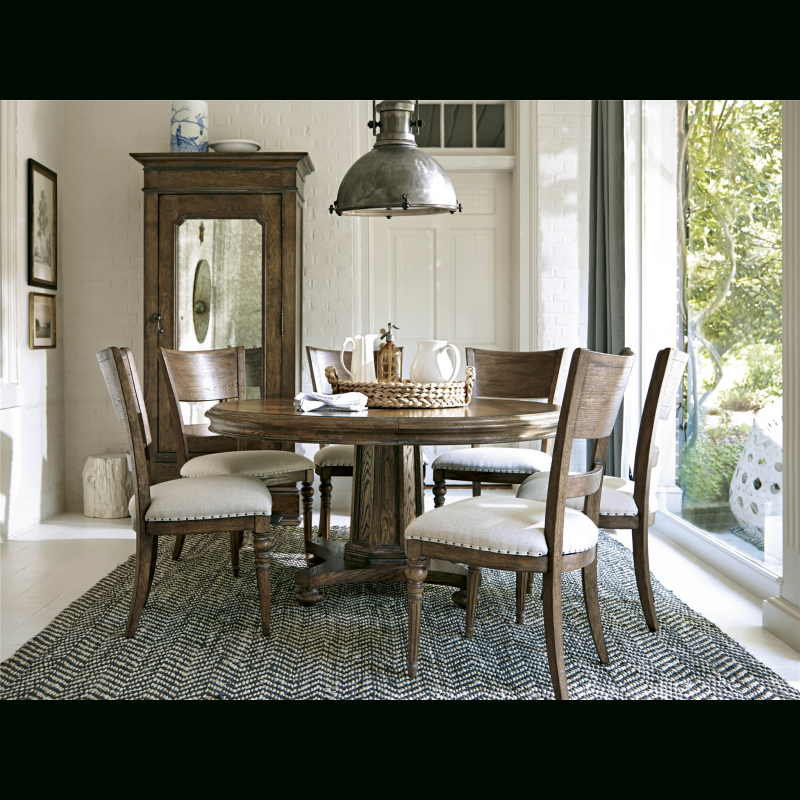 Popular Morris Round Dining Tables Throughout New Bohemian Extendable Round Dining Table (#17 of 20)