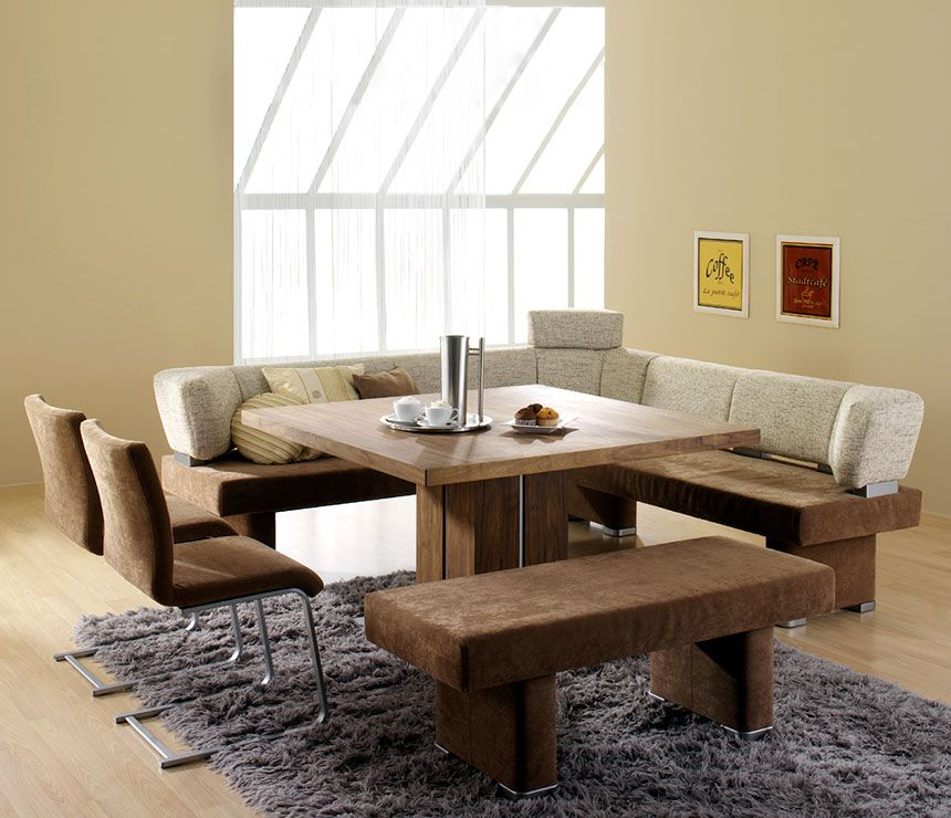 Popular Sketch Of Dining Room Tables With Benches (#16 of 20)