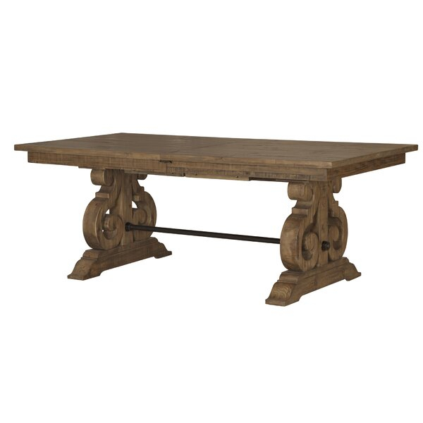 Popular Small Dining Tables With Rustic Pine Ash Brown Finish Throughout Kitchen & Dining Tables (View 9 of 20)