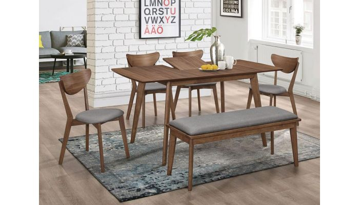 Popular Woodmark Mid Century Modern Dining Table Set With Modern Dining Tables (#14 of 20)